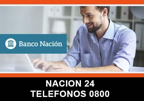 Banco Nación 24 telefono atención al cliente
