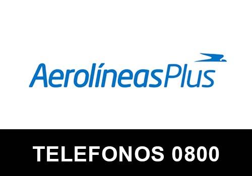 Aerolíneas Plus telefono atención al cliente