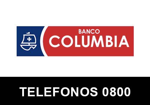Banco Columbia telefono atención al cliente