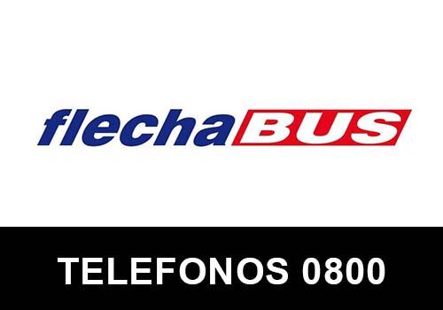 Flecha Bus telefono atención al cliente