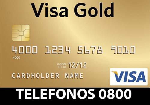 Visa Gold telefono atención al cliente