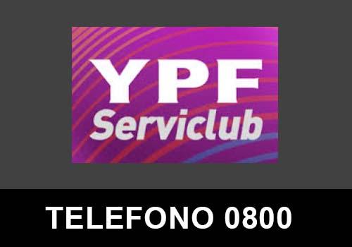 YPF Serviclub telefono atención al cliente