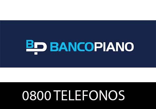 Banco Piano telefono atención al cliente