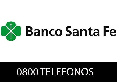 Banco Santa Fe  telefono atención al cliente