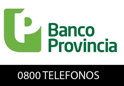 Banco Provincia  telefono atención al cliente