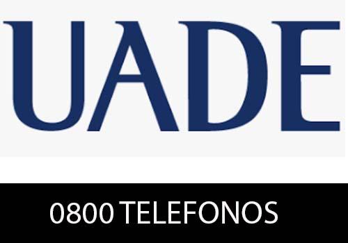UADE Teléfono
