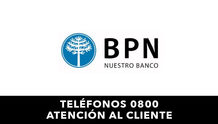 BPN telefono atención al cliente