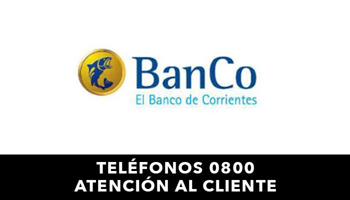 Banco de Corrientes telefono atención al cliente