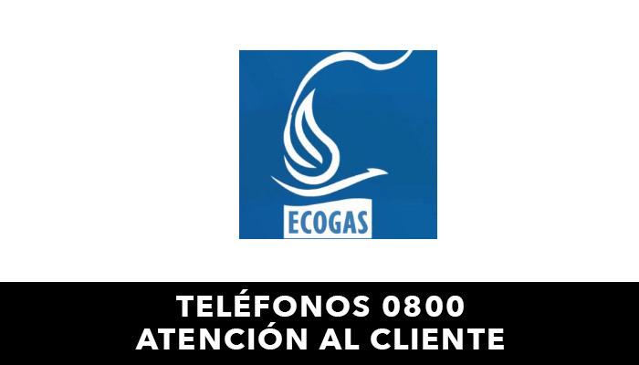 Ecogas telefono atención al cliente