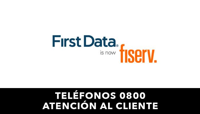 First Data telefono atención al cliente