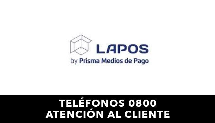 LaPos telefono atención al cliente