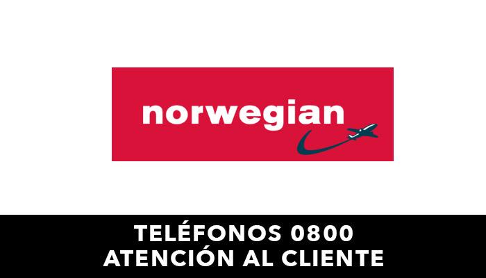 Norwegian telefono atención al cliente