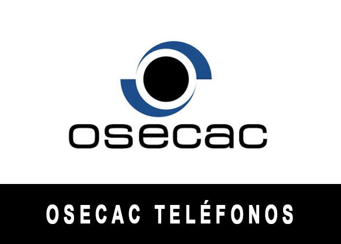 OSECAC telefono atención al cliente
