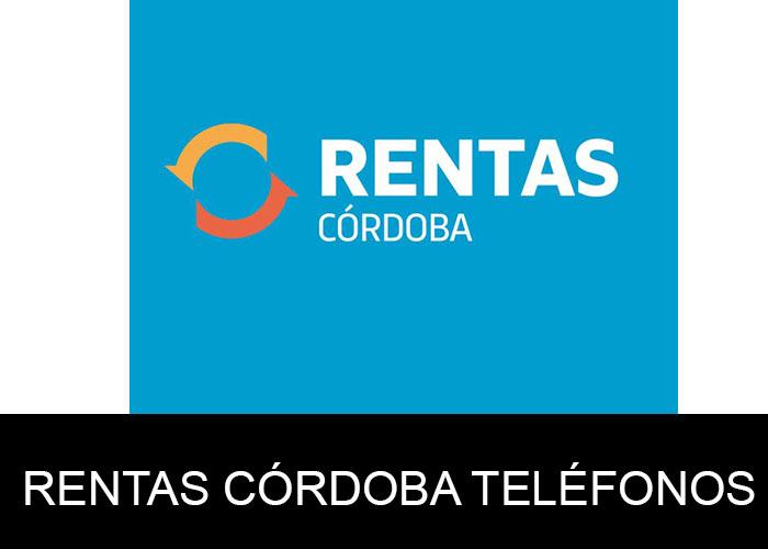 Rentas Córdoba telefono atención al cliente