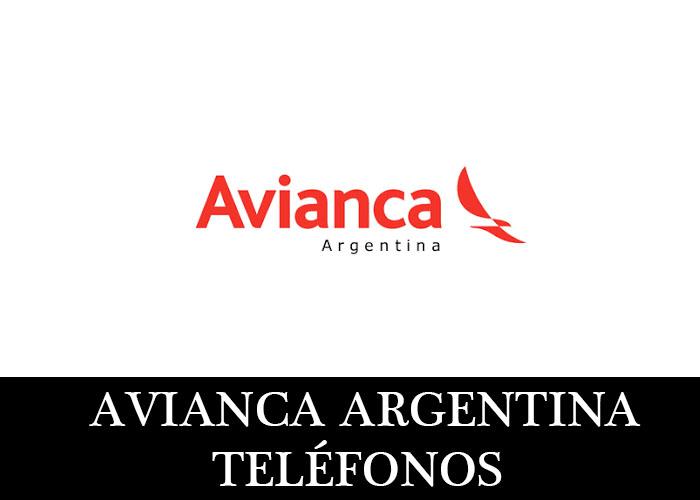 Avianca Argentina telefono atención al cliente