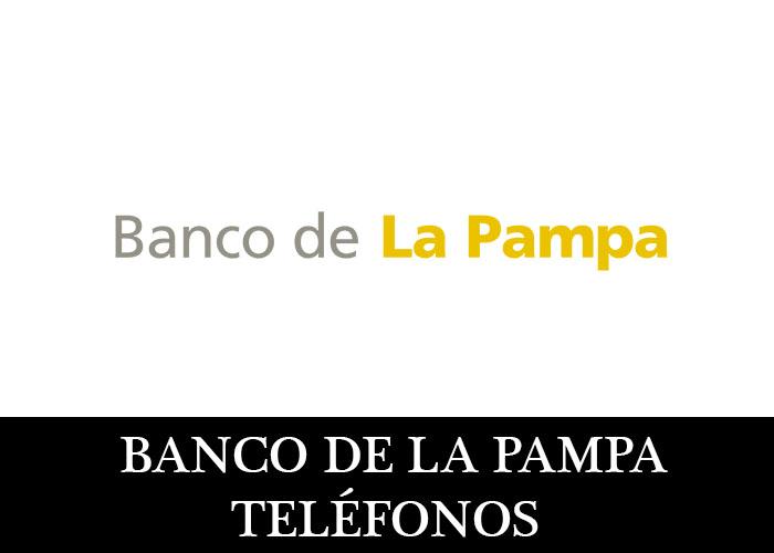 Banco de La Pampa telefono atención al cliente