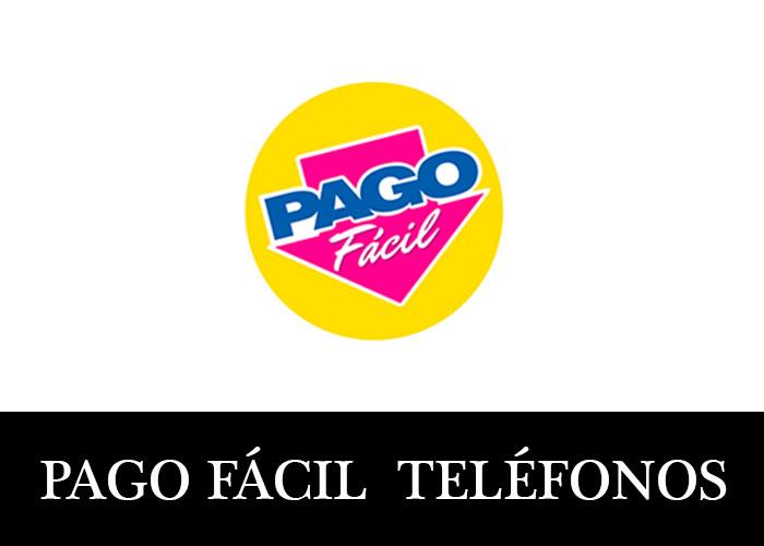Pago Fácil telefono atención al cliente