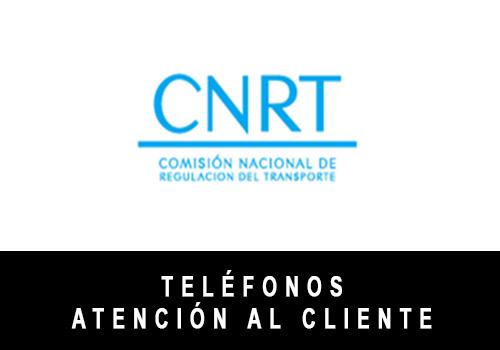 CNRT telefono atención al cliente