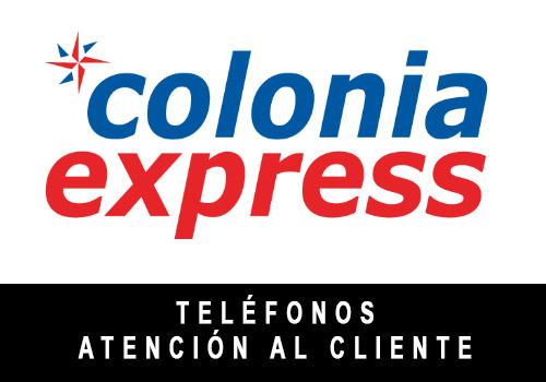 Colonia Express telefono atención al cliente