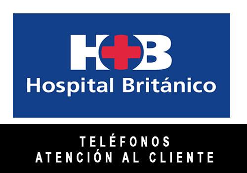 Hospital Británico telefono atención al cliente