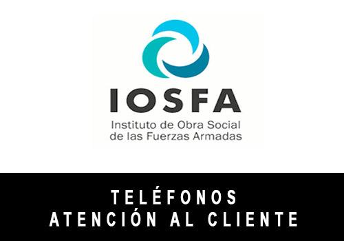 IOSFA telefono atención al cliente