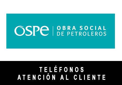 OSPE telefono atención al cliente