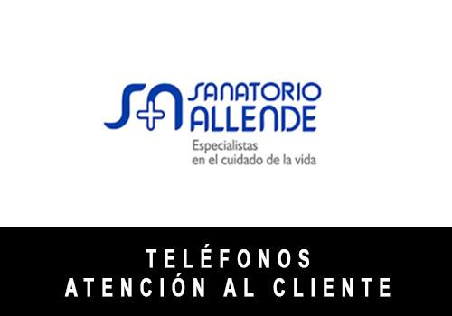 Sanatorio Allende telefono atención al cliente