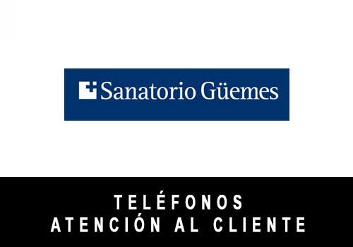 Sanatorio Güemes telefono atención al cliente