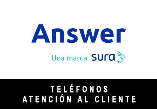 Answer Seguros telefono atención al cliente