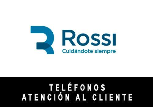 Centro Rossi telefono atención al cliente