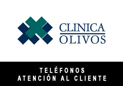 Clínica Olivos telefono atención al cliente