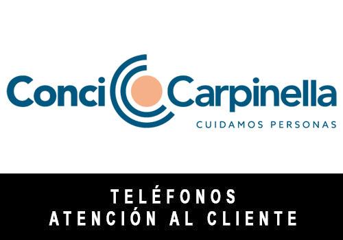 Conci Carpinella telefono atención al cliente