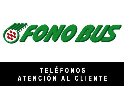 FonoBus telefono atención al cliente
