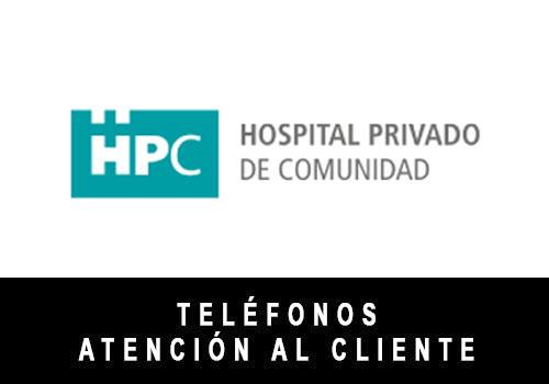 HPC telefono atención al cliente
