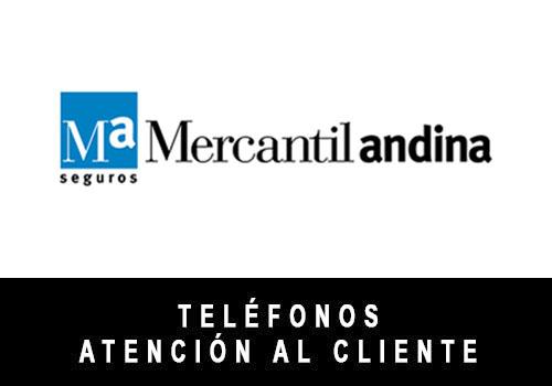 Mercantil Andina telefono atención al cliente