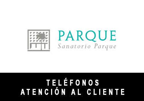 Sanatorio Parque telefono atención al cliente
