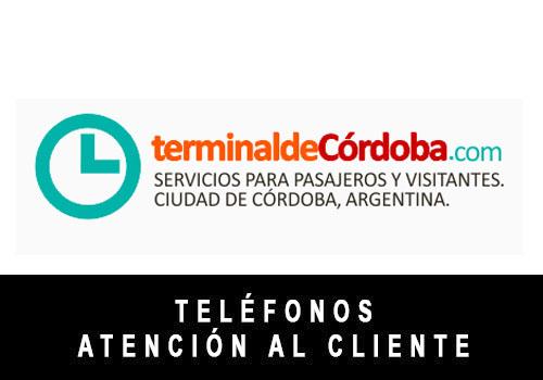 Terminal Cordoba telefono atención al cliente