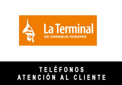 Terminal Rosario telefono atención al cliente