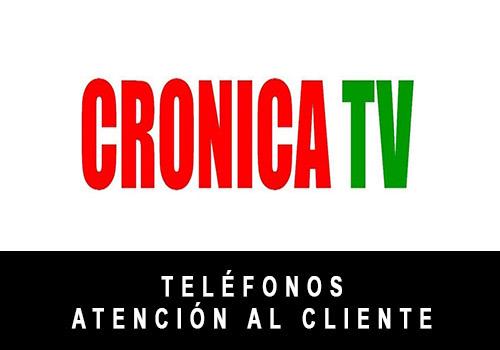 Crónica TV telefono atención al cliente